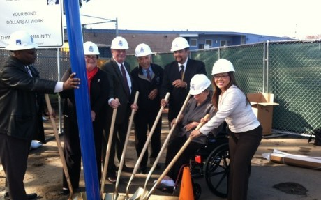 Playground Groundbreaking Ceremony
